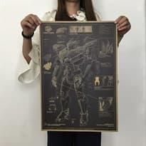 Плакат Страйкер Эврика из фильма Тихоокеанский рубеж купить Москва
