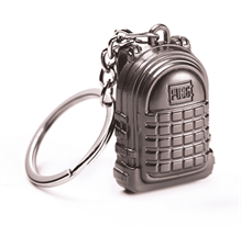 Металлический брелок рюкзак PUBG купить в Москве
