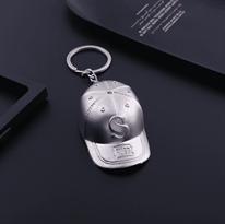 Брелок серебристая кепка PUBG купить в Москве
