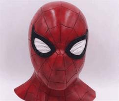 Латексная маска Человек-паук (Spiderman) купить в Москве