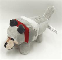 Плюшевая игрушка Волк из Майнкрафт купить в Москве