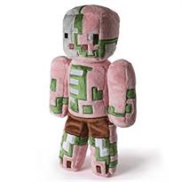Плюшевая игрушка Зомби Майнкрафт Minecraft купить в Москве