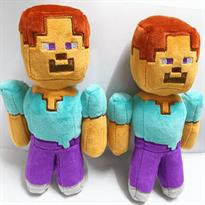 Плюшевая игрушка Стив Майнкрафт Minecraft купить в Москве