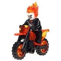 Лего фигурка Призрачного Гонщика купить в Москве