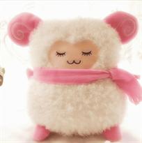 Купить мягкую плюшевую игрушку Барашек (овечка) в Москве