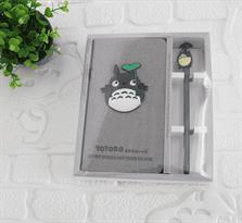 Набор блокнот и ручка Тоторо с листочком купить в Москве
