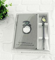 Набор блокнот и ручка Тоторо с зонтом купить в Москве