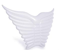 купить Белый надувной матрас в форме крыльев