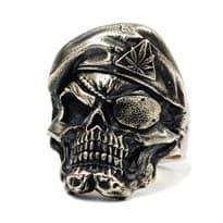 Кольцо в форме черепа купить