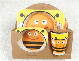 Бамбуковая посуда Пчела купить в Москве