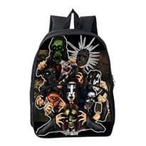 Рюкзак с участниками группы Slipknot в стиле мультфильмов купить