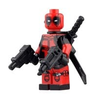Фигурка Лего-человечек Дэдпул (Deadpool) купить Москва