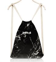 Купить Черный спортивный мраморный рюкзак мешок в Москве
