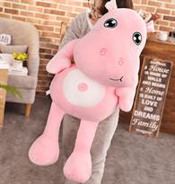 Плюшевая игрушка розовый Бегемотик (50 см) купить в Москве