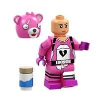 Фигурка Лего Капитан команды по обнимашкам (Cuddle Team Leader) из игры Фортнайт купить Москва