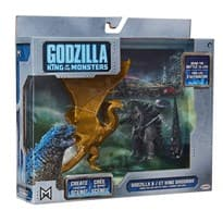 Игровой набор Годзилла и Кинг Гидора (Godzilla and King Ghidorah)