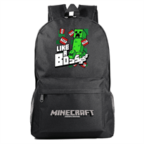 "Купить Рюкзак ""Like a boss"" из игры Minecraft (Майнкрафт)"