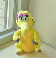 Мягкая игрушка желтый Крокодил Елли купить
