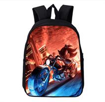Рюкзак с Соником на мотоцикле купить