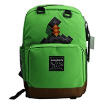 Зеленый рюкзак с мечом Майнкрафт (Minecraft Backpack Box & Sword) купить в Москве