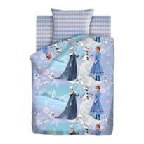 Постельное белье Зимняя сказка из мультфильма Холодное сердце купить