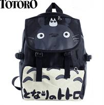 Купить Черный рюкзак с Тоторо для школы