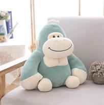 Голубая плюшевая игрушка орангутанг купить в Москве