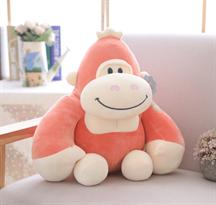 Розовая плюшевая игрушка орангутанг купить в Москве