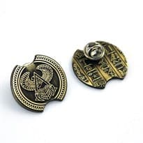 Значок Ассасин Крид (Assassin's Creed) Цвет Золото купить Москва