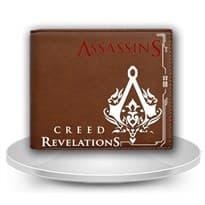 Кошелек Ассасин Крид (Assassin's Creed Unity) Цвет Коричневый купить Москва
