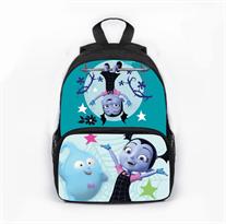 Школьный розовый рюкзак с Удивительной Ви и Деми (Вампирина) купить в Москве