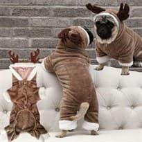 Костюм для маленькой собаки Олень купить