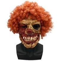 Маска страшного клоуна для Хэллоуина купить