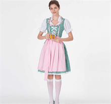 Зеленый баварский костюм купить