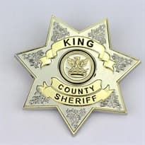 Значок шерифа из сериала Ходячие Мертвецы купить