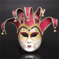 Красная венецианская маска купить