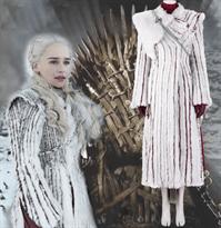 Купить Зимний наряд Дайенерис для косплея Матери Драконов
