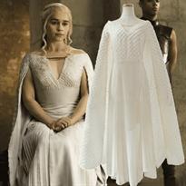 Белое платье для косплея Кхалиси Дайенерис купить