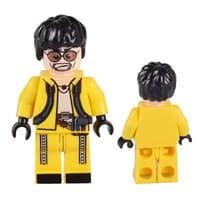 Фигурка Лего скин из игры PUBG Желтый костюм купить Москва