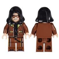 Фигурка Лего скин из игры PUBG Коричневый костюм с капюшоном купить Москва