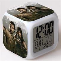 Часы будильник Рик и Дерил из сериала Ходячие Мертвецы купить Москва