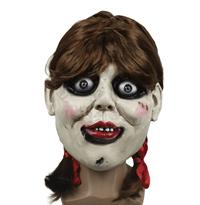 """Маска куклы из фильма """"Проклятье Аннабель"""" для Хэллоуина купить в Москве"""