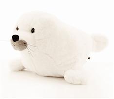 Плюшевая игрушка белый тюлень (35 см) купить в Москве