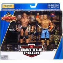 Подвижная фигурка Джон Сина и Дейв Батиста (WWE Hall of Champions John Cena vs. Batista) купить