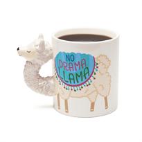 Кружка Лама с надписью No Drama Llama