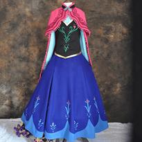 """Купить Платье для косплея Анны из """"Холодное сердце"""" (Frozen)"""