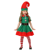 Купить новогодний костюм эльфа для девочек