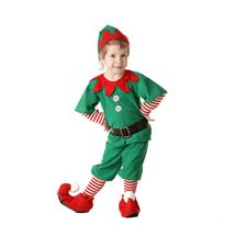 Костюм рождественского эльфа для мальчиков