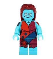 Лего фигурка голубой Салли (Sally Face) купить