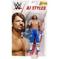 Подвижная фигурка Аллен Джонс (WWE AJ Styles) 15 см купить
